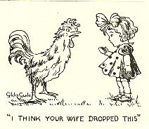 Cartoon by Gilda Gude