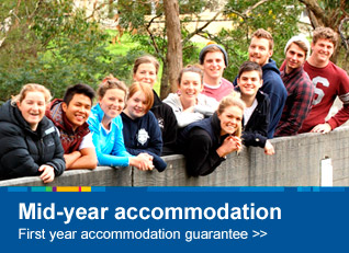 Mid-year accommodation - first year accommodation guarantee