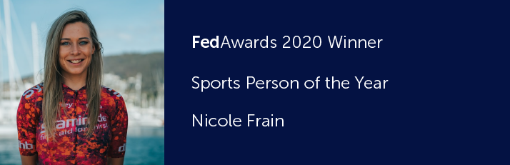 FedAwards 2020 Winner. Sports Person of the Year. Nicole Frain