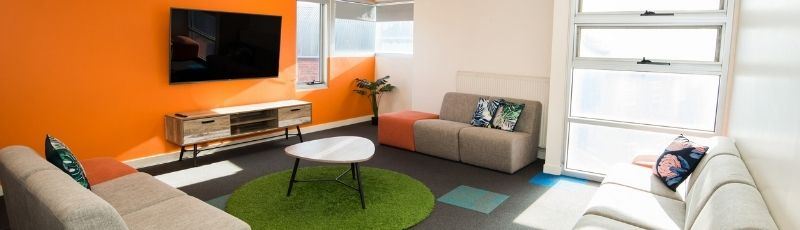 Fedliving offer a range of comfortable accommodation options for students.