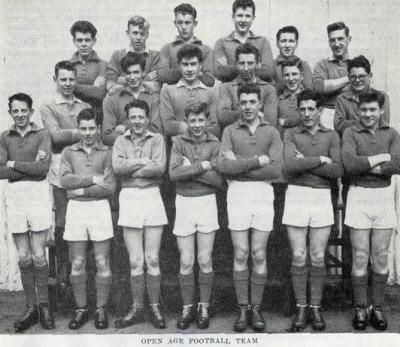 BJTS Football Team, 1958