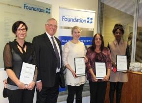 2014 Foundation Scholarship recipients