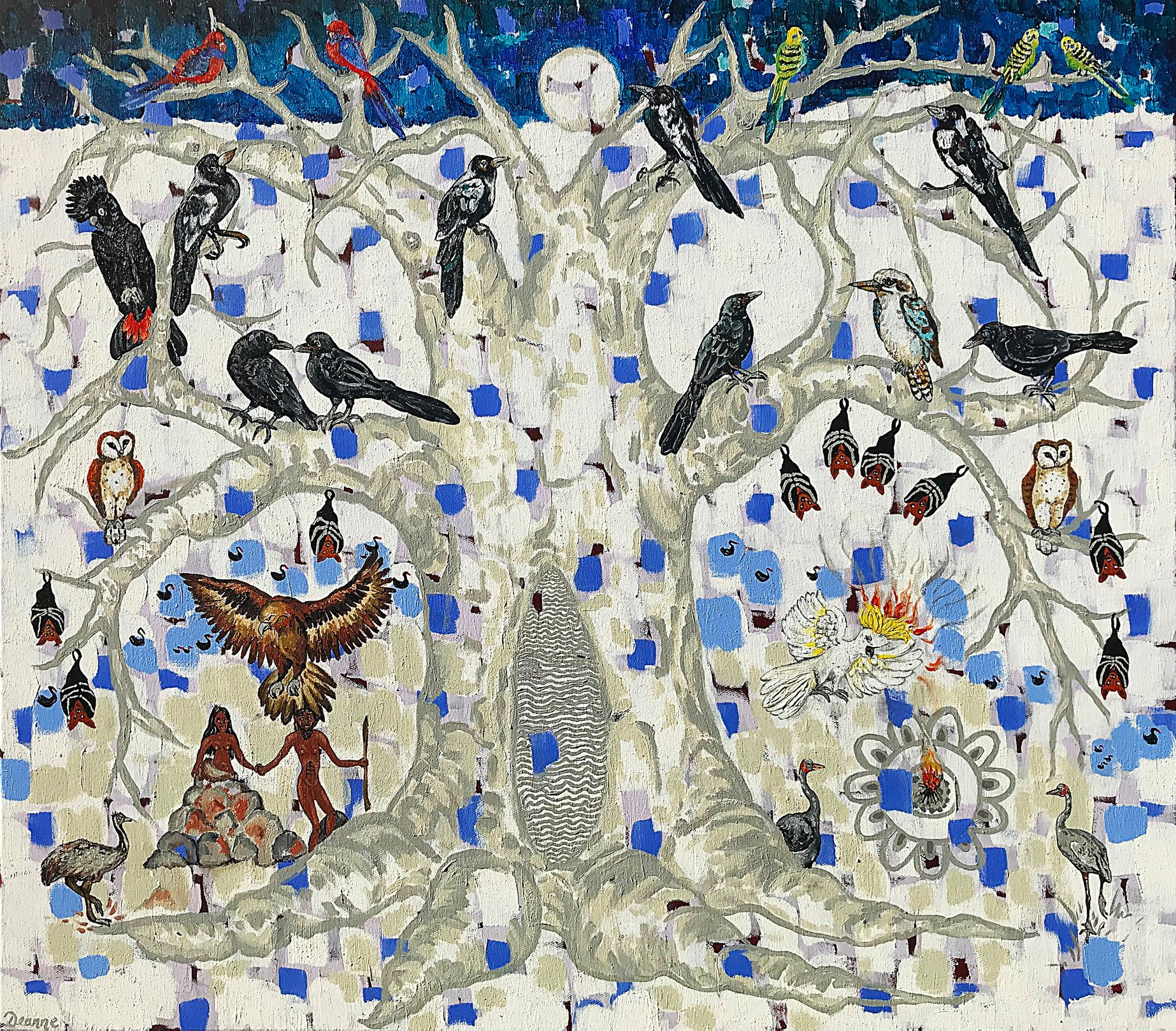The Creation Tree of Knowledge by Deanne Gilson