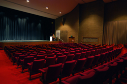 Founders Theatre is often utilised for lectures, dramatic and musical presentations, graduation ceremonies and other official functions.