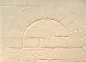 Evidence of assay kilns an still be found on interior and exterior walls of the Old Chemistry Building: (Cat.No.8577.2)