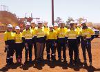FedUni students gain experience at Rio Tinto iron ore mine