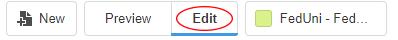Edit Plus header options, Edit highlighted