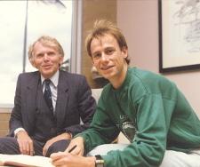 Image of Steve Moneghetti and John Sharpham