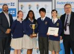 Casey students show their smarts at FedUni