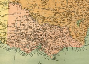 old map of victoria