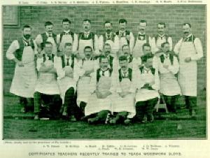 Certified Sloyd Teachers, 1901. (Cat.No.7126)