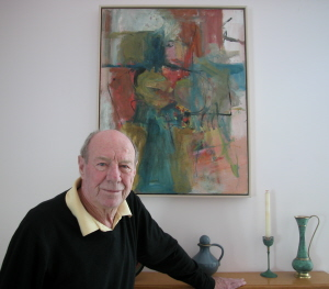 Wes Walters at his home in February 2005