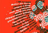 Jennifer McKnight Blood of Flowers, 2012 silkscreen print on paper Courtesy the artist