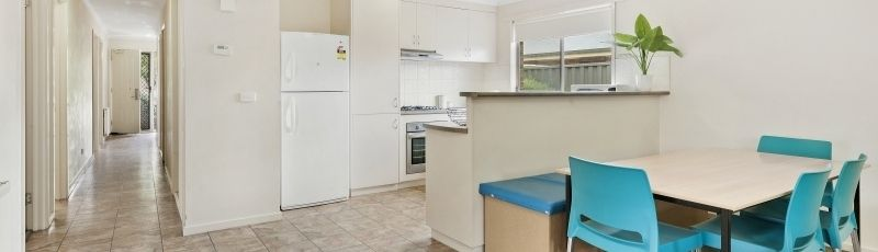 Short term accommodation is available in a number of locations