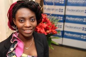 Aline Bakulikira - 2015 Foundation Scholarship recipient
