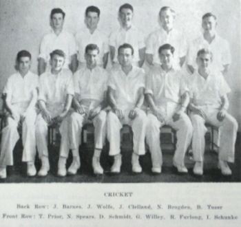 SMB Cricket Team 1955(Cat.No.541)