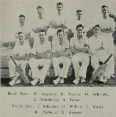 SMB Cricket Team 1954(Cat.No.541)