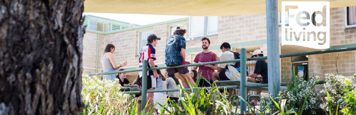 FedUni Living offers a range of on and off campus accommodation options for FedUni students. For the Best Start, Live on Res. First Year Undergraduate Students are guaranteed* accommodation during their first year of study. Applications are now open for 2015 residency.