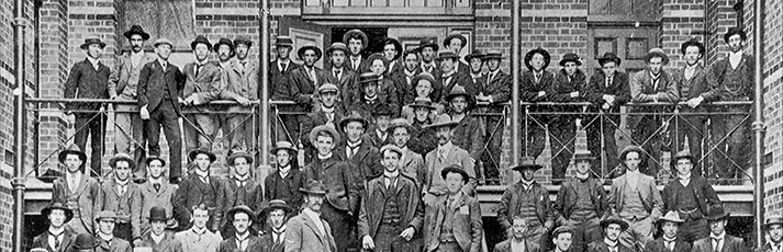 Ballarat School of Mines students c1901