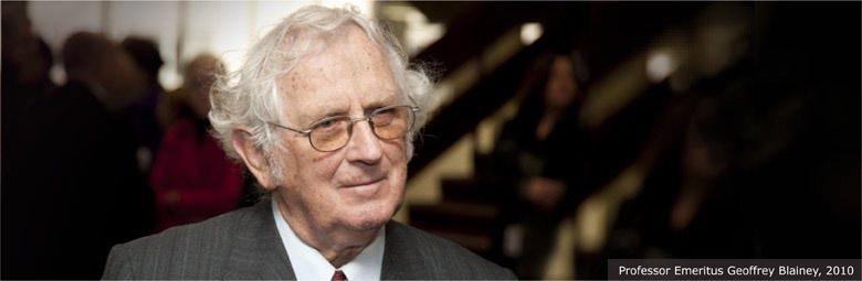 Professor Emeritus Geoffrey Blainey, 2010