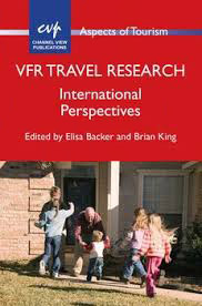 VFR Travel Research International Perspectives book, edited by Elisa Backer and Brian King