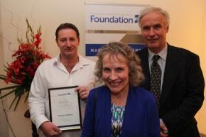 Ian Alexander Gordon family with Darren Thomas