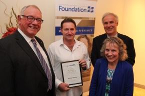Ian Alexander Gordon family with Chancellor and Darren Thomas
