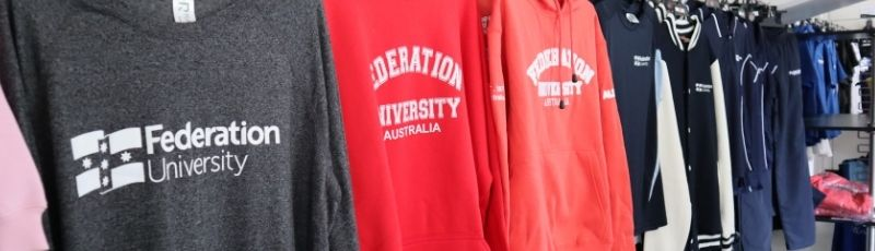 Visit Fedstore for a great range of Federation University merchandise, memorabilia and stationery products delivered right to your door! or pick-up in-store.