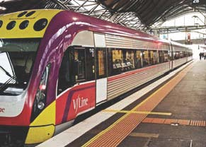 V/line train