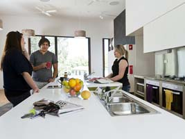 Gippsland Halls of Residences offer fully equipped kitchens
