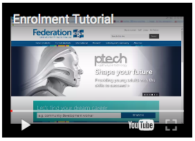 Enrolment Tutorial Video Image